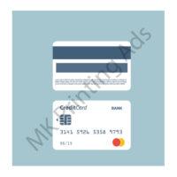 Plastic card-Signature