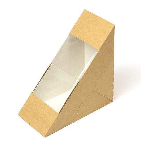Custom Kraft Window Boxes