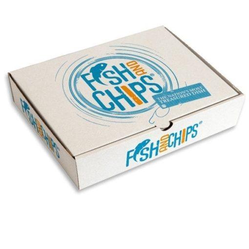 Custom Medium Fish N Chips Boxes