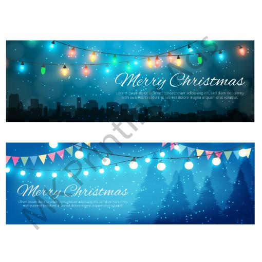 Landscape Christmas Card