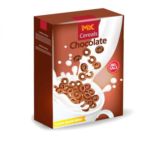 Custom Cereal Box