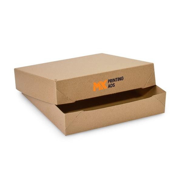 Kraft Apparel logo Boxes