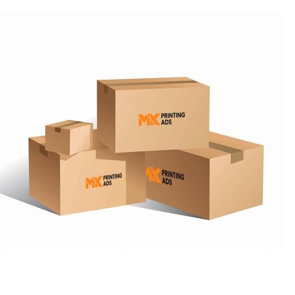 Custom Logo Cardboard Boxes