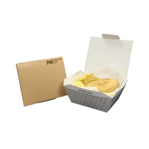 Custom Fish And Chips Packaging