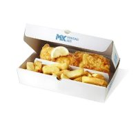 Retail Fish And Chips Packaging